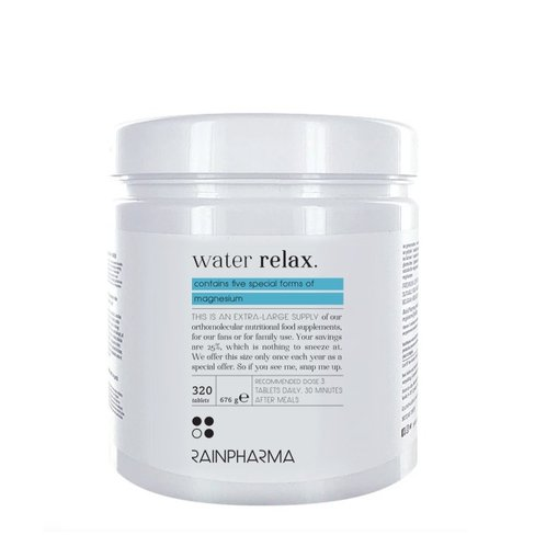RainPharma Water Relax Family Pack (320 Capsules)