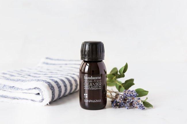 RainPharma Handsome Rinse-Free Cleanser (Natural Alcohol Gel) 60ml