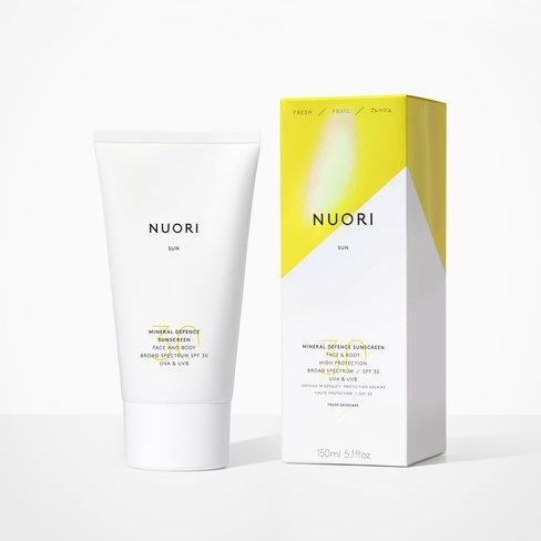 Nuori Mineral Defence Sunscreen - Face & Body SPF30