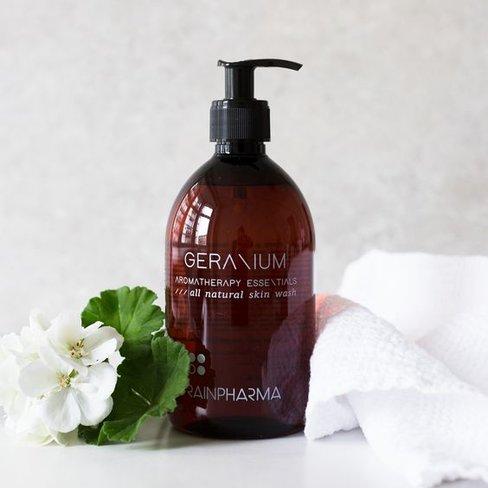 RainPharma Skin Wash Geranium 500ml