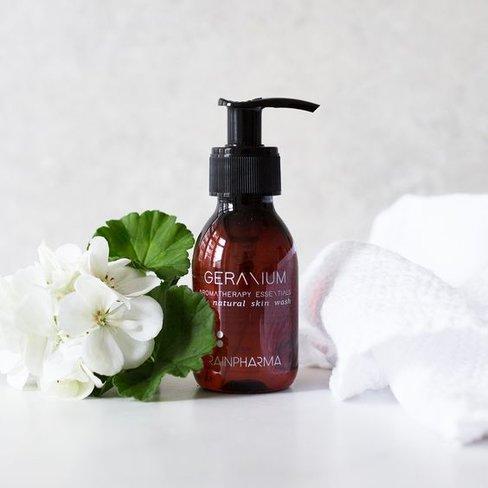 RainPharma Skin Wash Geranium 100ml