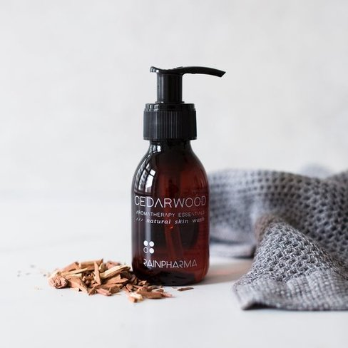 RainPharma Skin Wash Cedarwood 100ml