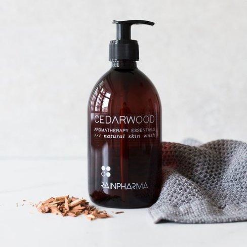 RainPharma Skin Wash Cedarwood 500ml